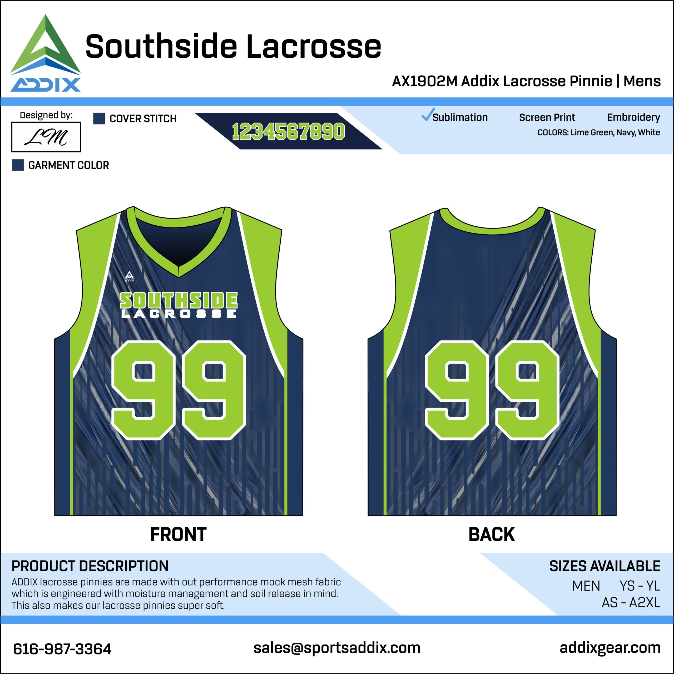 Lacrosse Custom Template Design - Pennies
