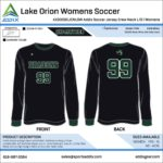 Soccer Custom Template Design - Long Sleeve Jersey
