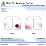 Soccer Custom Template Design - Shorts
