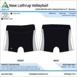 Volleyball Custom Template Design - Shorts