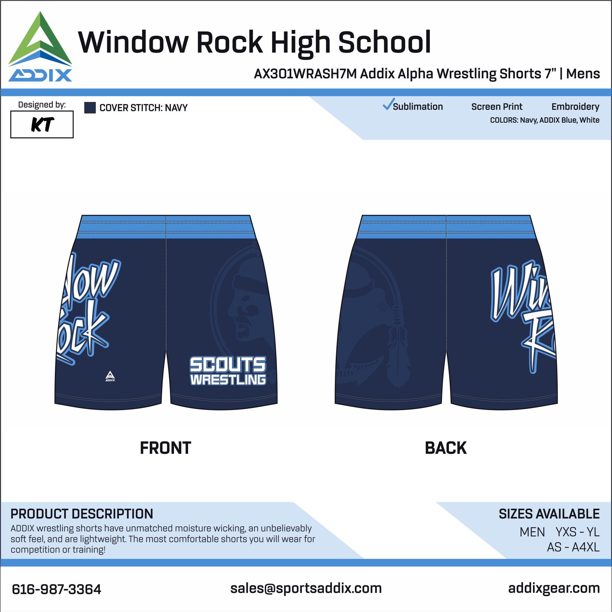 Wrestling Custom Template Design - Fight Shorts